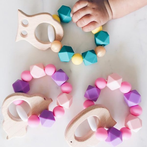 silicone teething rings