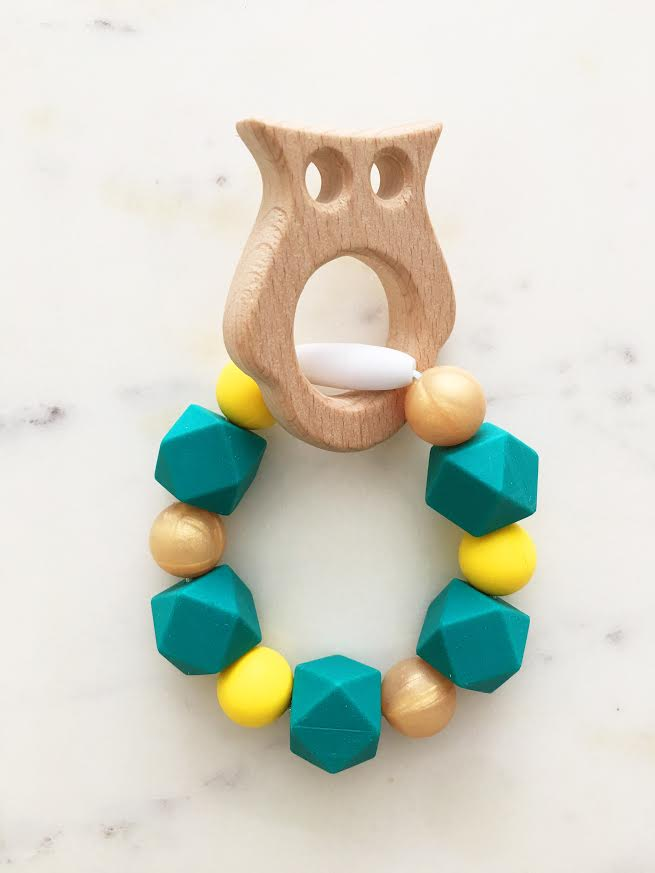 Silicone Teething Bracelet