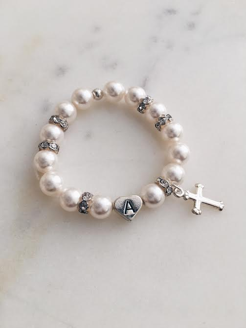 Baptism Christening First Communion Bracelet